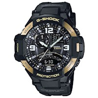 Casio G-Shock GA1000-9GDR Men's Watch Black & Gold