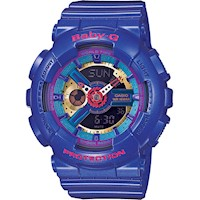 Casio Baby-G Women's Watch in Purple BA-112-2ADR