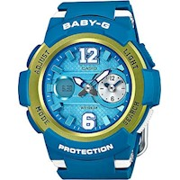 Casio Baby-G Women's Watch in Blue BGA210-2B