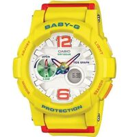 Casio Baby-G Women's Watch in Yellow BGA180-9BDR