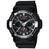 Casio G-Shock GA-200-1ADR Men's LED Watch in Black