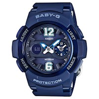 Casio Baby-G Women's Watch in Blue BGA210-2B2
