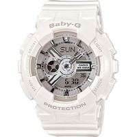 Casio Baby-G BA-110-7A3 Women's LED Watch in White