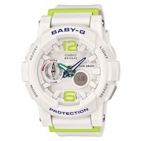 Casio Baby-G Women's Watch in White BGA180-7B2