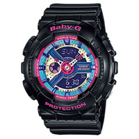 Casio Baby-G Women's Watch in Black BA-112-1ADR