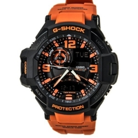 Casio G-Shock Gravitymaster Men's Watch in Orange