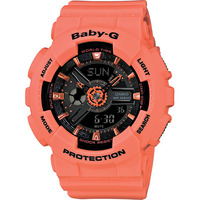Casio Baby-G BA-111-4A2 Women's LED Watch in Pink