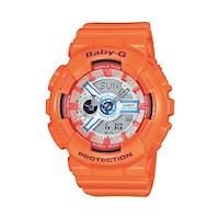 Casio Baby-G Women's Watch in Orange BA-110SN-4ADR