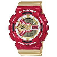 Casio G-Shock Men's Watch in Red Gold GA-110CS-4ADR