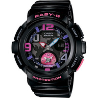 Casio Baby-G BGA-190-1BDR Womens Watch Black & Pink