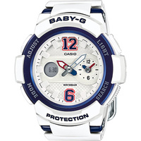 Casio Baby-G BGA-210-7B2 Women's Watch White & Blue