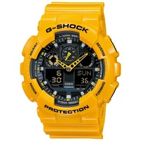 Casio G-Shock Men's Watch in Yellow GA-100A-9ADR