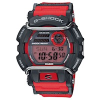 Casio G-Shock GD-400-4DR Men's LED Watch in Red
