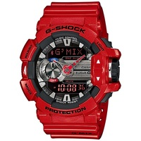 Casio G-Shock GBA-400-4ADR Men's LED Watch in Red
