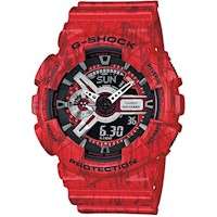 Casio G-Shock Men's Watch in Red GA110SL-4A