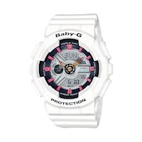 Casio Baby-G BA110SN-7ADR Women's LED Watch White