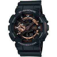 Casio G-Shock Mens LED Digital Analogue Watch Black