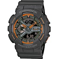 Casio G-Shock Mens Watch Matte Grey GA-110TS-1A4DR
