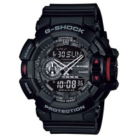 Casio G-Shock Mens Watch in Black GA-400-1BDR