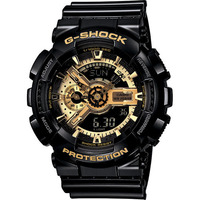 Casio G-Shock Mens Watch in Black GA-110GB-1ADR