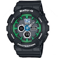 Casio Baby-G Womens Watch in Black BA-120-1BDR