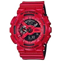 Casio G-Shock Mens Watch in Red GA-110LPA-4ADR