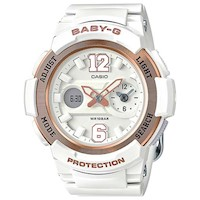Casio Baby-G Womens Watch in White BGA-210-7B3DR