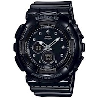 Casio Baby-G Womens Watch in Black BA-125-1ACR