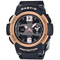 Casio Baby-G Women's Watch in Black BGA-210-1B