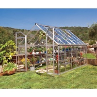 Maze 8' x 12' Clear Polycarbonate Greenhouse