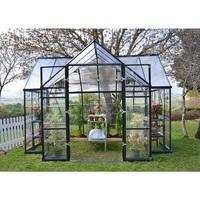 Maze Victory Walk In Clear Polycarbonate Greenhouse