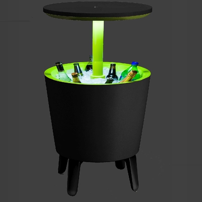 Keter 2 In 1 Cool Bar Icebox Amp Outdoor Table W Leds Buy