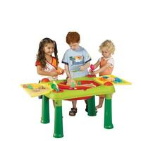 Keter Kid's Play Sand And Water Table Activity Toy