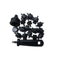 130 Piece Dripper Kit + Hole Punch & Tap Connector