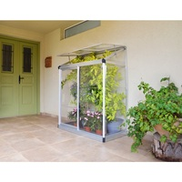 Maze Lean-To Polycarbonate Small Mini Greenhouse