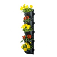 Vertical Garden Kit with 5 Pots and Weed Mats