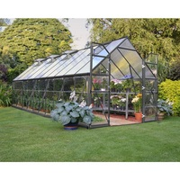 Maze Outdoor Walk In Polycarbonate Greenhouse 8x20'