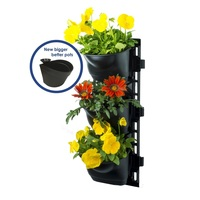 Maze Vertical Garden Kit Wall Planter with 3 Pots