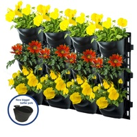Maze Vertical Garden Kit Wall Planter with 12 Pots