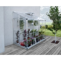 Maze Clear Panel Wall Patio Greenhouse 244x124.5cm