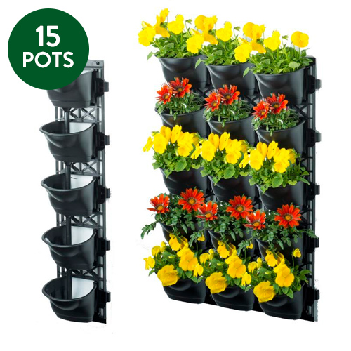 vertical garden planter kits with weed mats buy wall. Black Bedroom Furniture Sets. Home Design Ideas