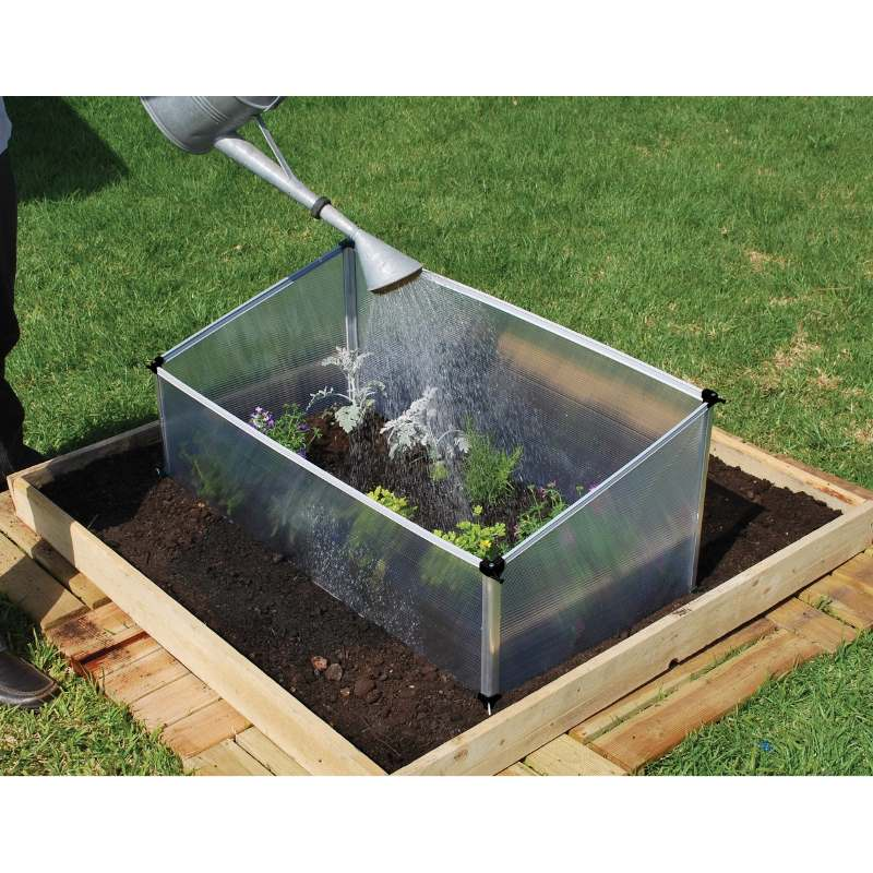 Single Cold Frame Greenhouse With Crystal Clear Lid Buy