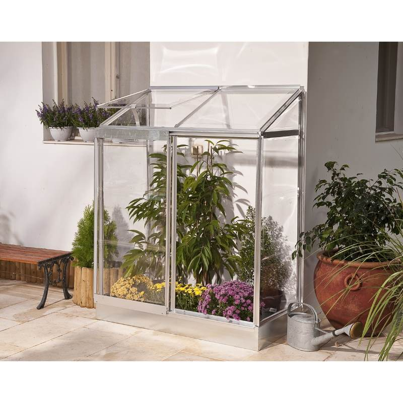 Maze Lean To Polycarbonate Small Mini Greenhouse Buy