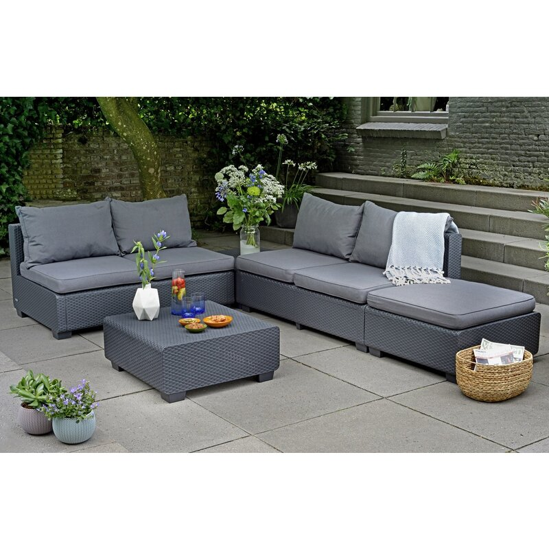 Keter Sapporo Outdoor Lounge Furniture Set