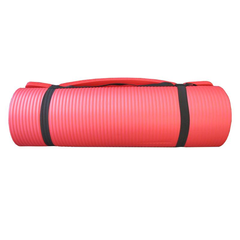 Gym Towel Adelaide: Non-Slip Yoga Mat (15mm Thickness) Blue Or Red