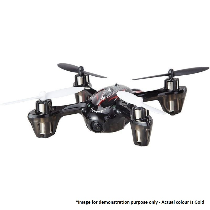 f180 rc hd video camera quadcopter drone in gold