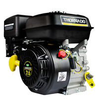 Thornado OHV Thread Shaft Petrol Engine 7HP 19.05mm