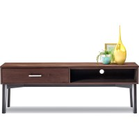 Selena TV Stand Entertainment Unit Caramel 1.6m