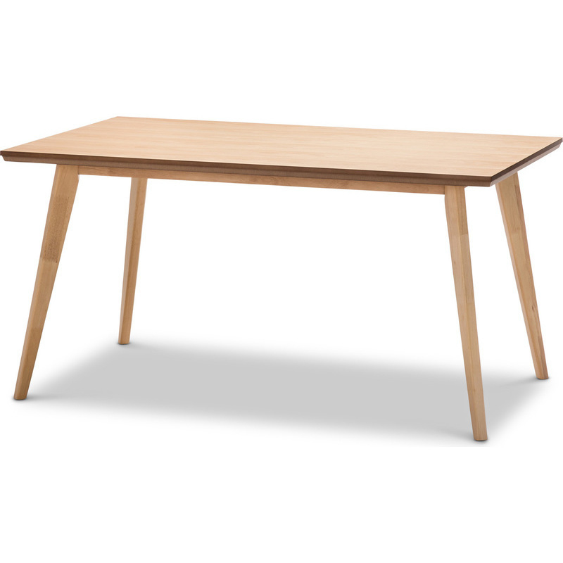 Scandinavian Wood Dining Table in Natural Oak 150cm Buy  : 41 05201 from www.mydeal.com.au size 800 x 800 jpeg 91kB
