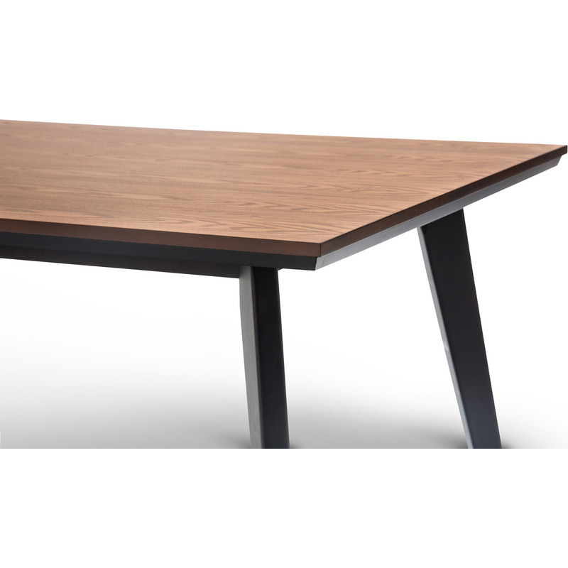 Scandinavian Wooden Dining Table Dark Walnut 1500mm Buy  : 41 05303 from www.mydeal.com.au size 800 x 800 jpeg 95kB
